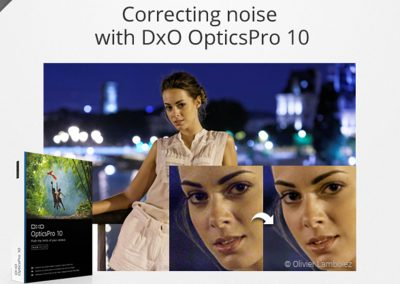 Correcting noise with DxO OpticsPro 10
