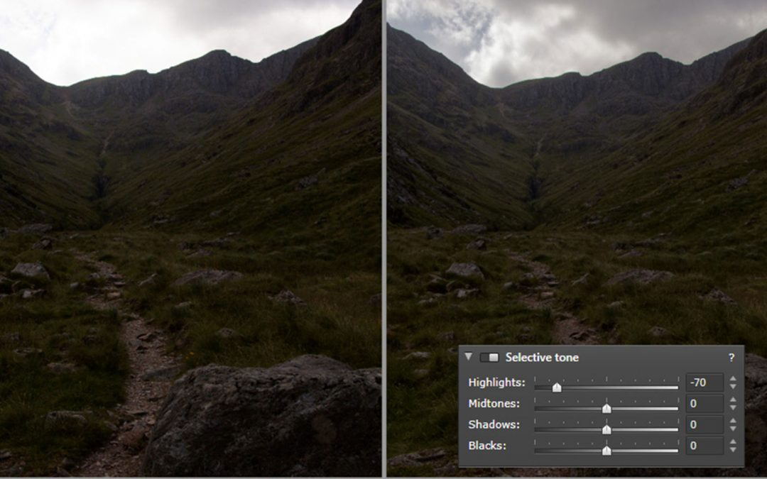 Creating an HDR effect from a single RAW image