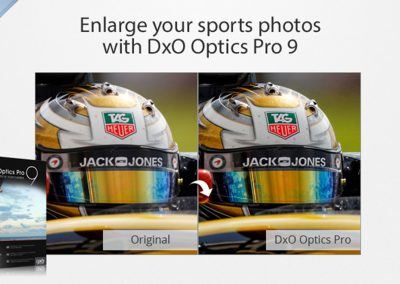 Enhance your sports photos with DxO OpticsPro9