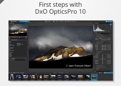 First steps with DxO OpticsPro 10