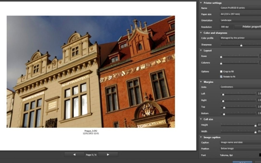 Print images and manage colors with DxO OpticsPro 9
