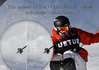 The power of DxO OpticsPro 11's new automatic corrections
