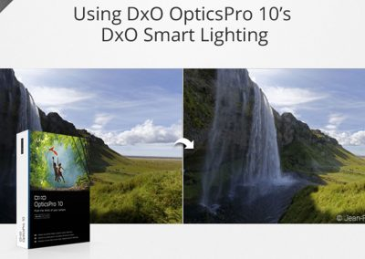 Using the histogram in DxO OpticsPro 10