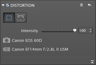 Correcting distortion with DxO ViewPoint 2 - DxO