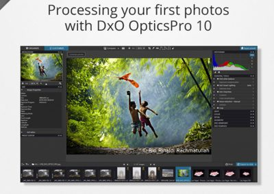 Processing your first photos with DxO OpticsPro 10