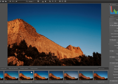 Batch processing a series of images with DxO FilmPack 4