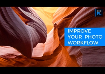 Improve your Workflow with DxO Smart Workspace, DxO Advanced History and more!