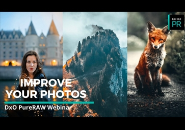 How to Improve Your Portrait, Wildlife & Landscape Images with DxO PureRAW