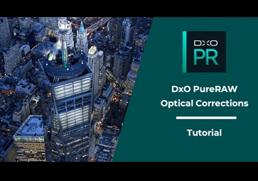 Optical corrections with DxO PureRAW ⎜Tutorial